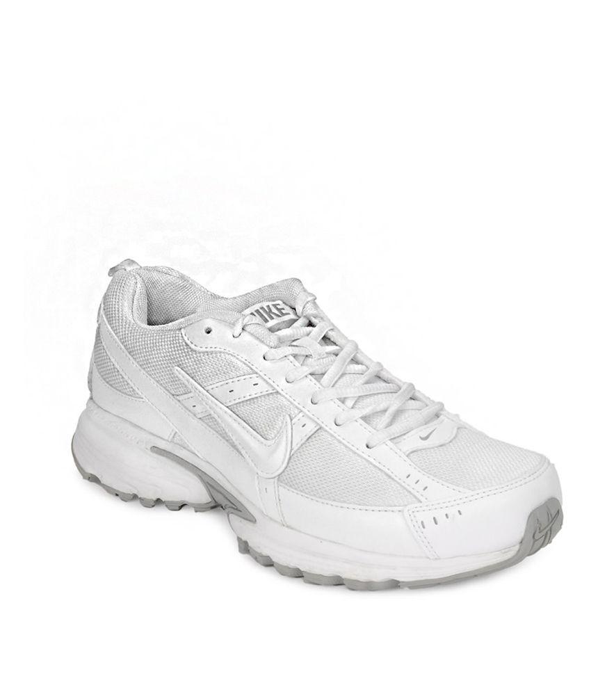 Nike White Running Sport Shoes