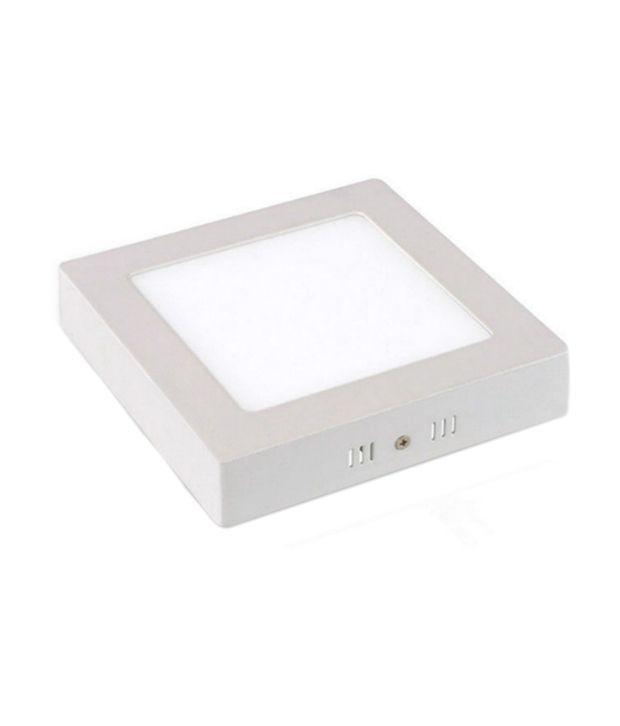 Rajshree 8 Watt Worm White Color Led Square Surface Panel: Buy