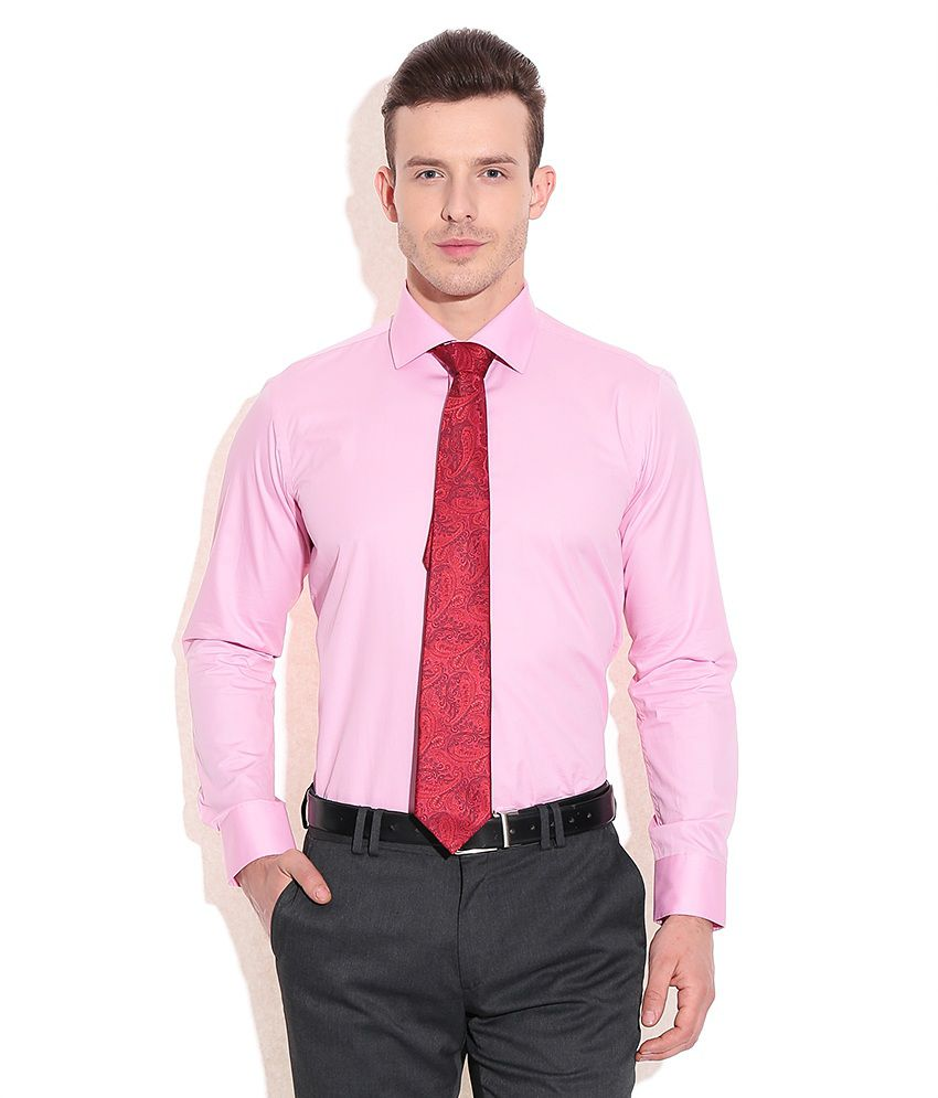 Tie Pink Shirt | Is Shirt