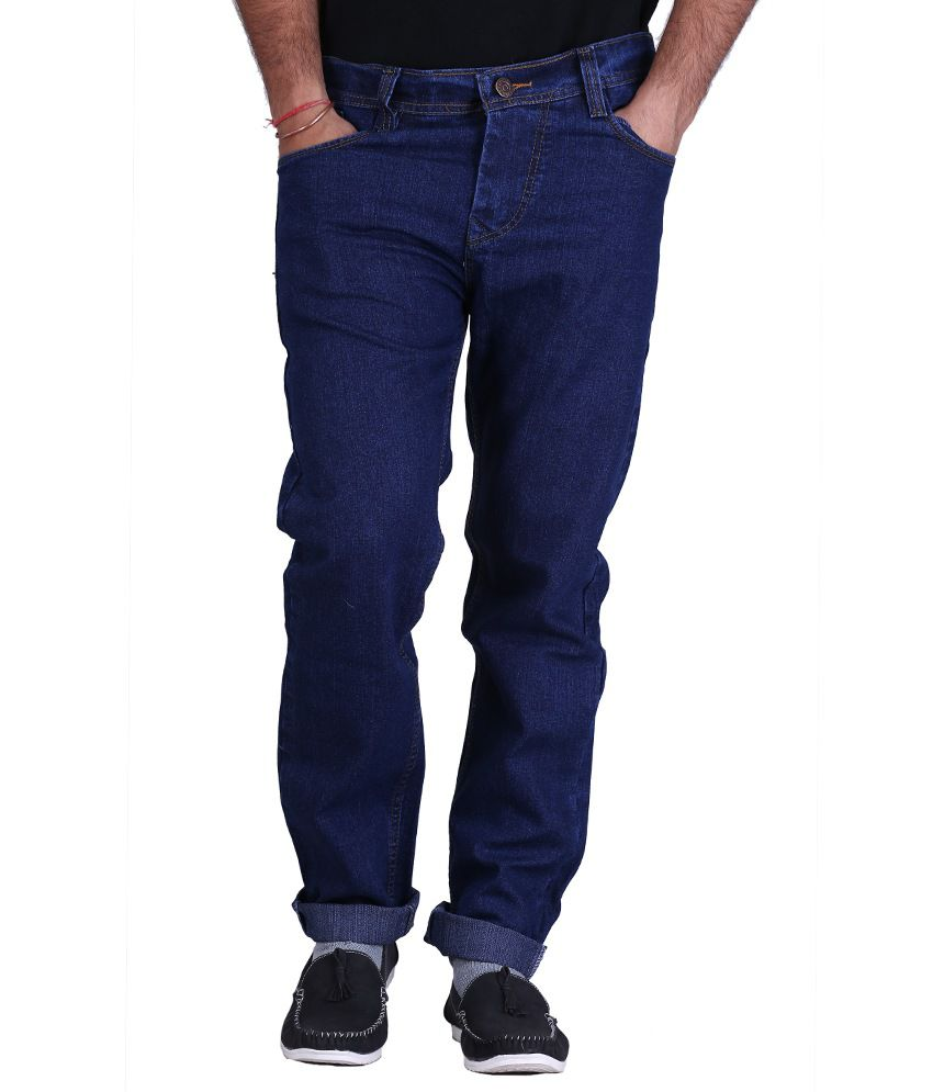 X-Cross Cotton Blue Stretchable Jeans