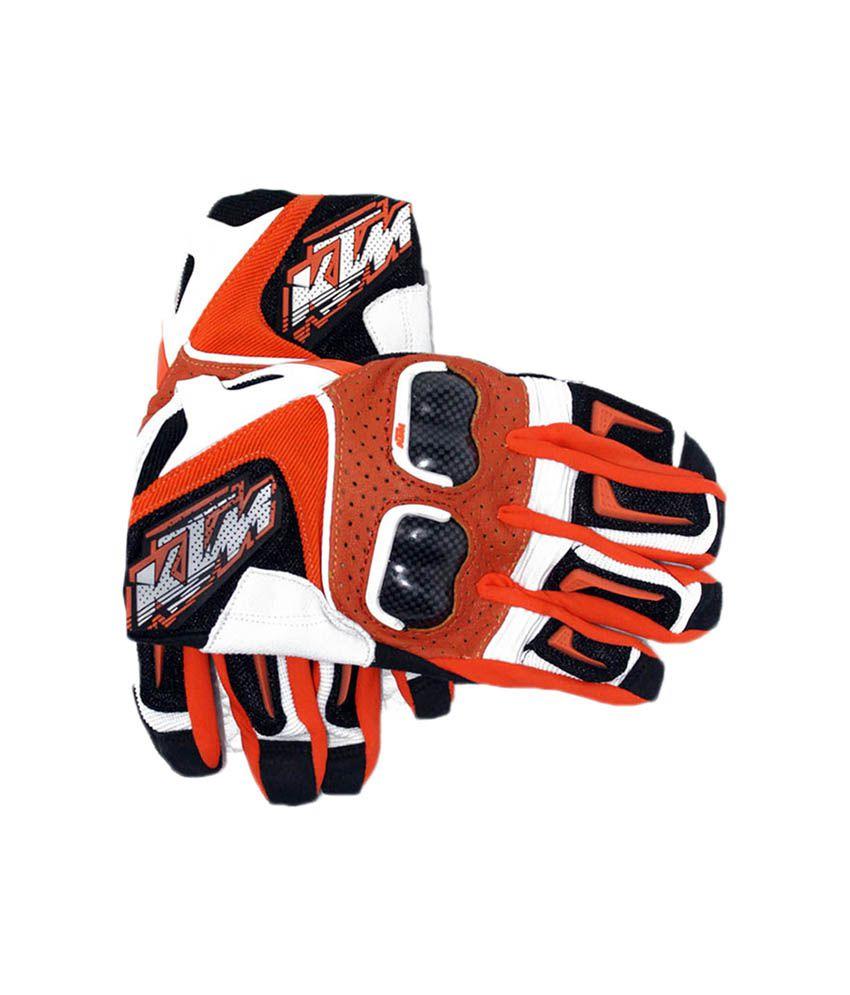 Motorcycle gloves online india - Ktm Gloves