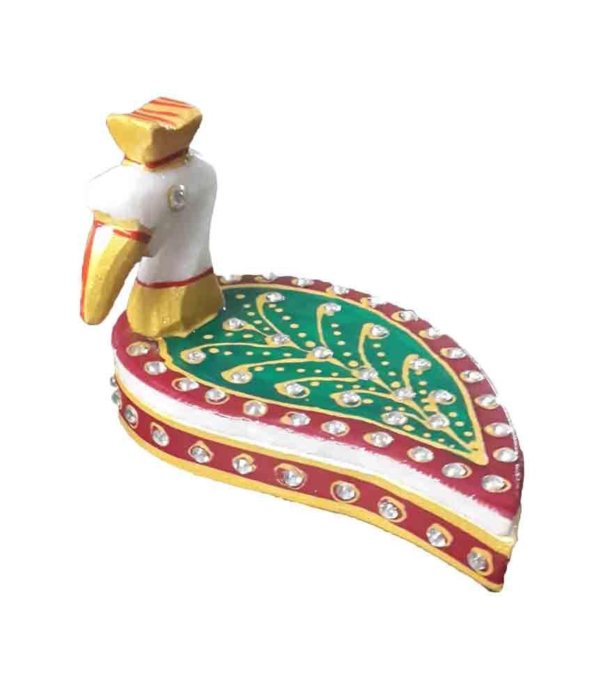 Ravishing Variety Green Hand Painted Roli Tika Chawal Chopra