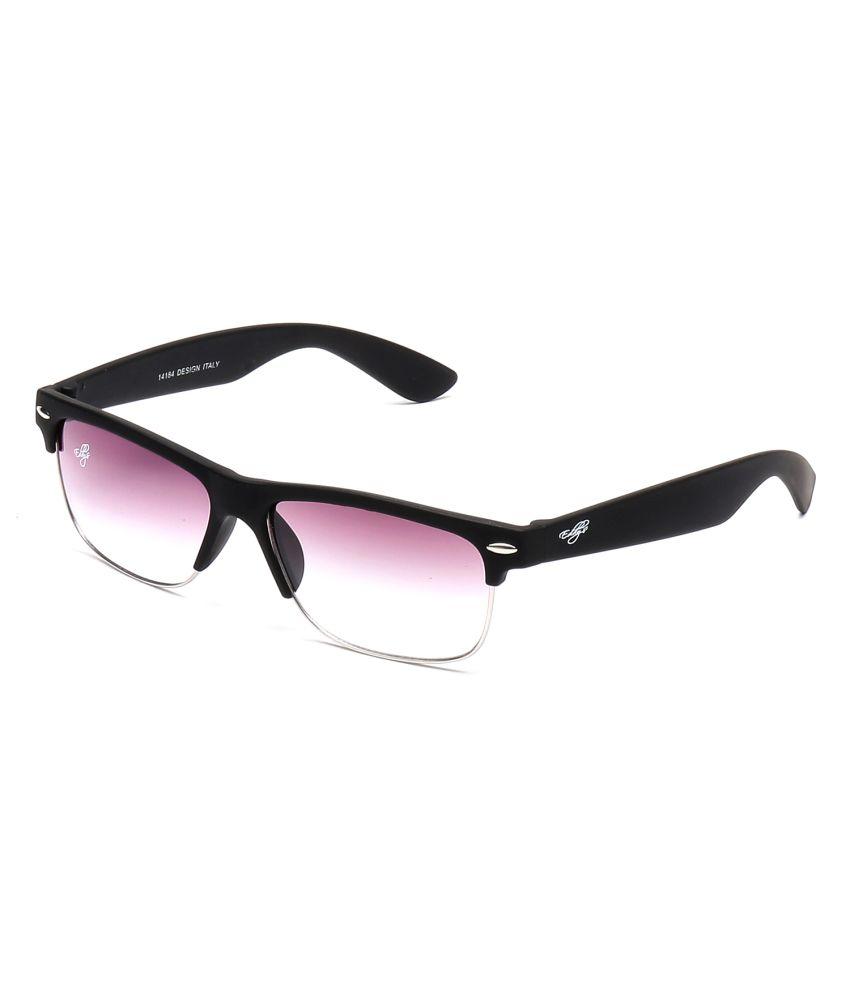 Eddy's Wine Wayfarer Men Sunglasses