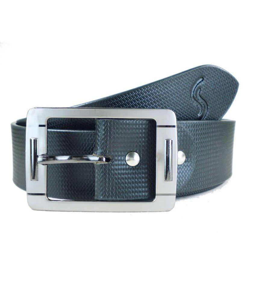 Sizzlers Casual Belt 10MBM-FKZA3BXP08-Black