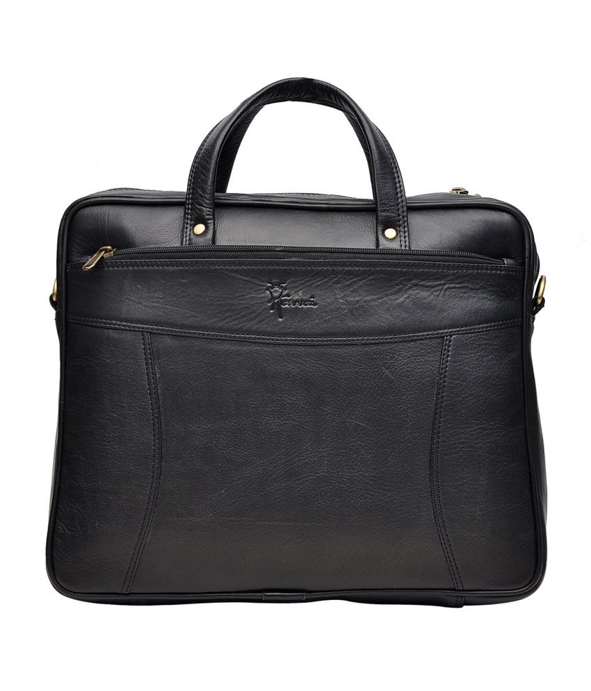 Hawai Leather Mini Laptop Bag for Professionals