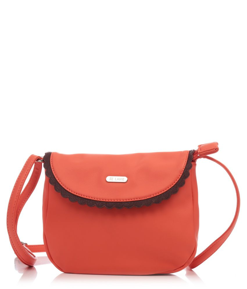 Lavie L05311130098 PeachPuff Sling Bags - Buy Lavie L05311130098 ...