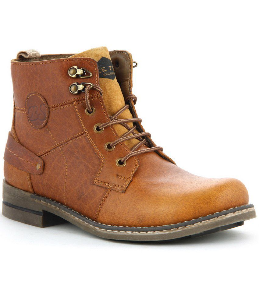 Lee Fog Tan Leather Boot