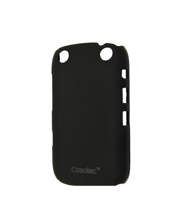 size 40 0cd47 19c34 Casotec Ultra Slim Hard Shell Back Case Cover W/ Screen Protector For  Blackberry Curve 9320 - Black