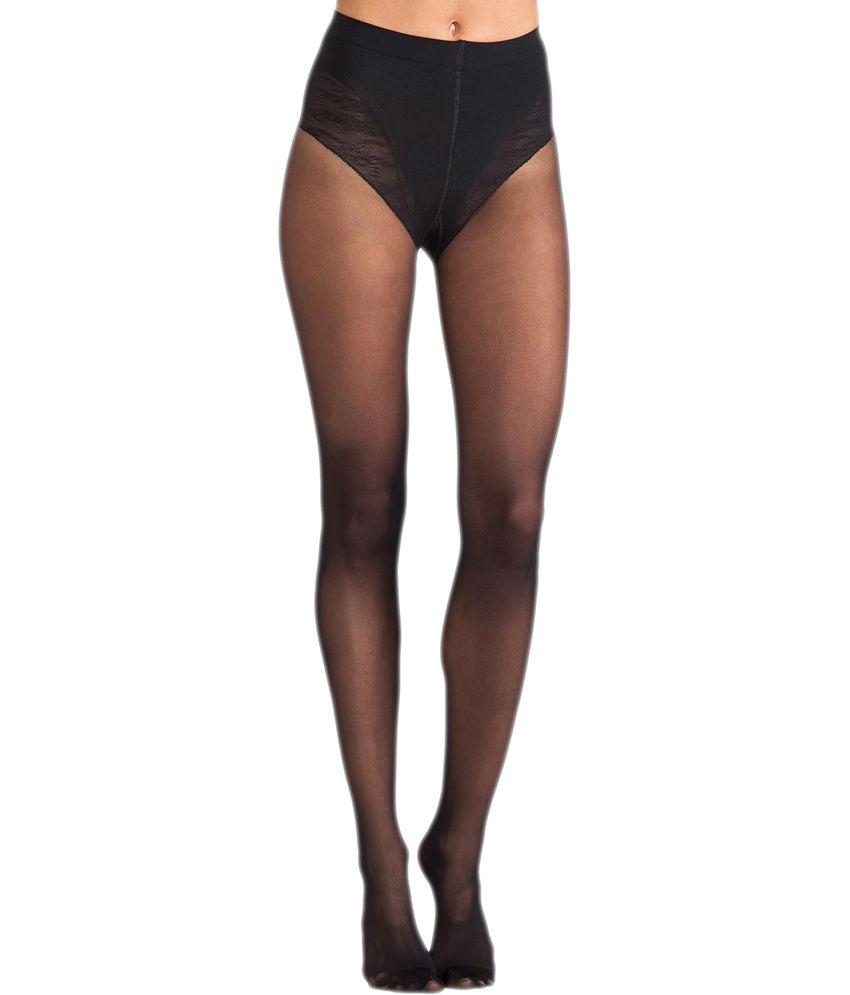 bb6da5e0958 Prive Shopper Black Nylon Black Stockings for Women  Buy Online at Low Price  in India - Snapdeal
