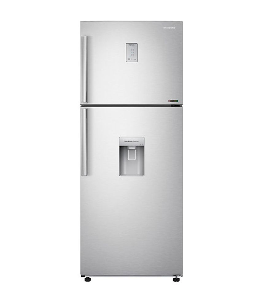 Samsung 462 Ltr RT47H567ESL/TL Frost Free Double Door Refrigerator - Real Stainless