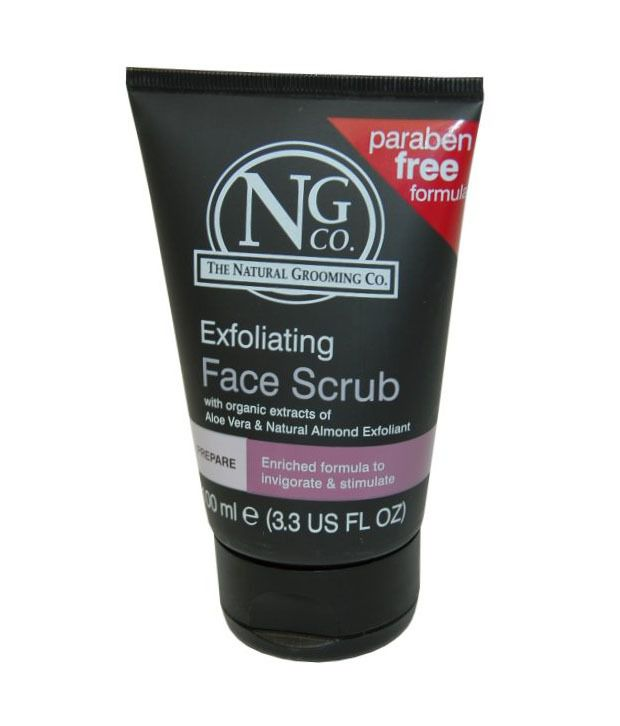 e6f71476057 The Natural Grooming Co Exfoliating Men's Face Scrub - 100ml: Buy The  Natural Grooming Co Exfoliating Men's Face Scrub - 100ml at Best Prices in  India - ...