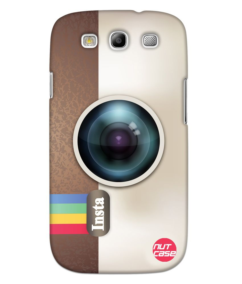 Nutcase Designer Case Cover For Samsung Galaxy S3 - Instagram Case