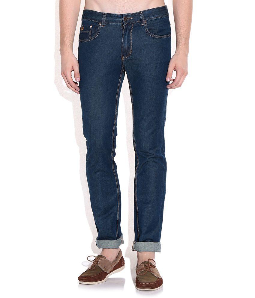 Colt Blue Cotton Basics Jeans