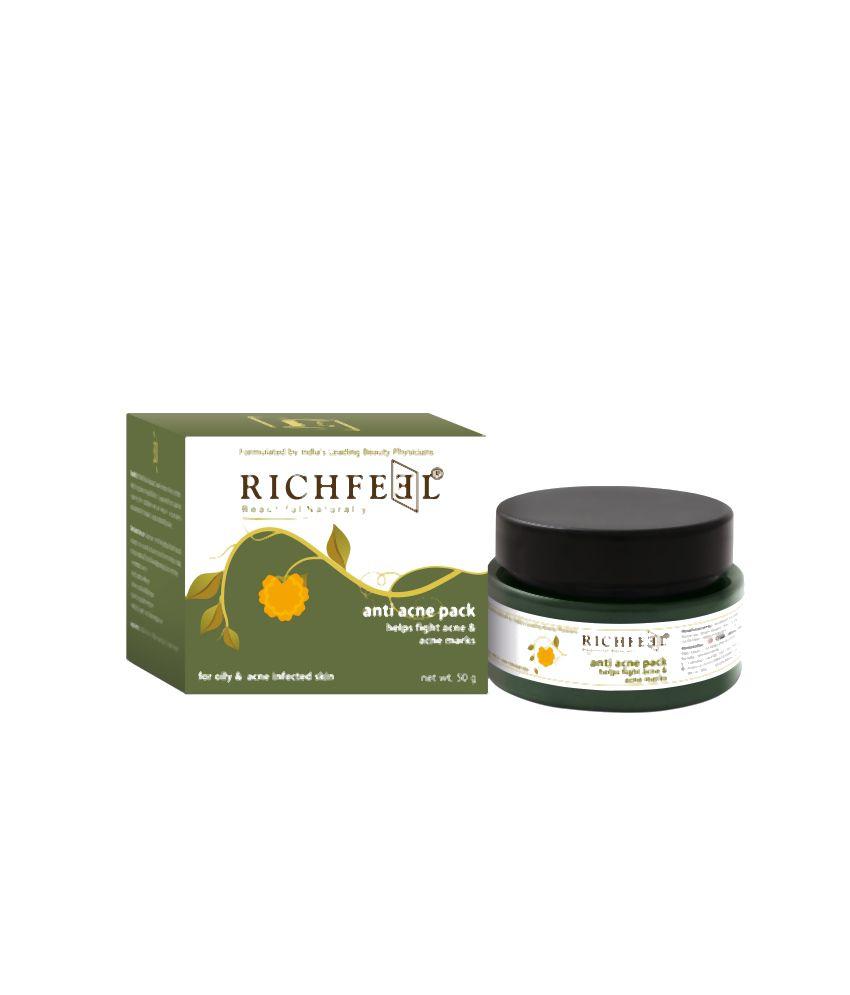 Richfeel Anti Acne Pack 50 gm (Pack Of 3)
