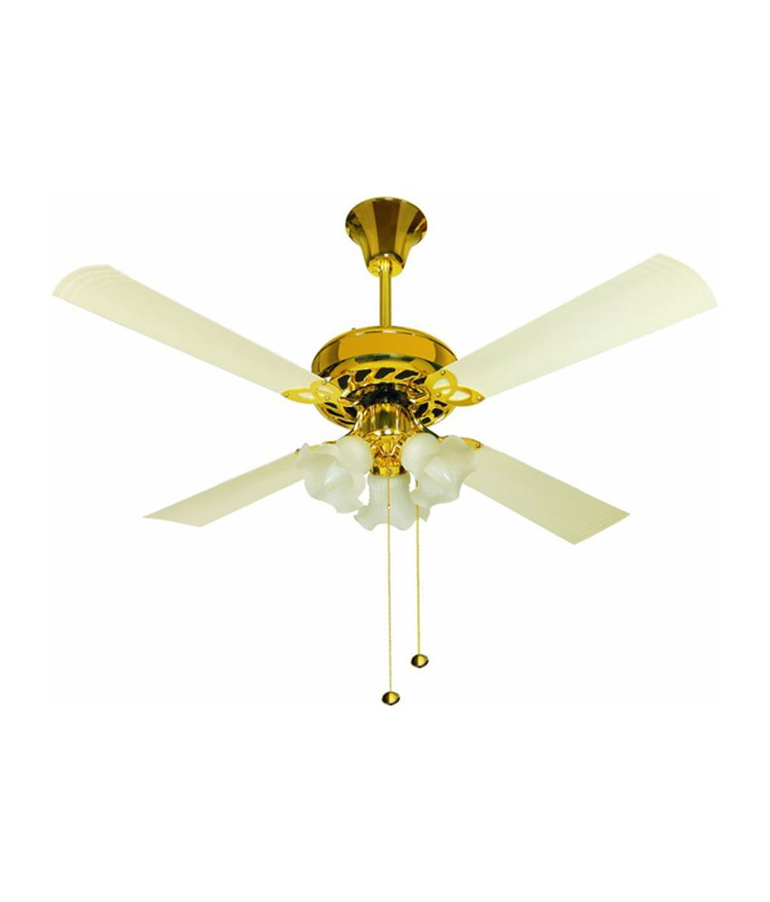 Uranus 4 Blade (1200 mm) Ceiling Fan (Ivory) Price in India - Buy ...