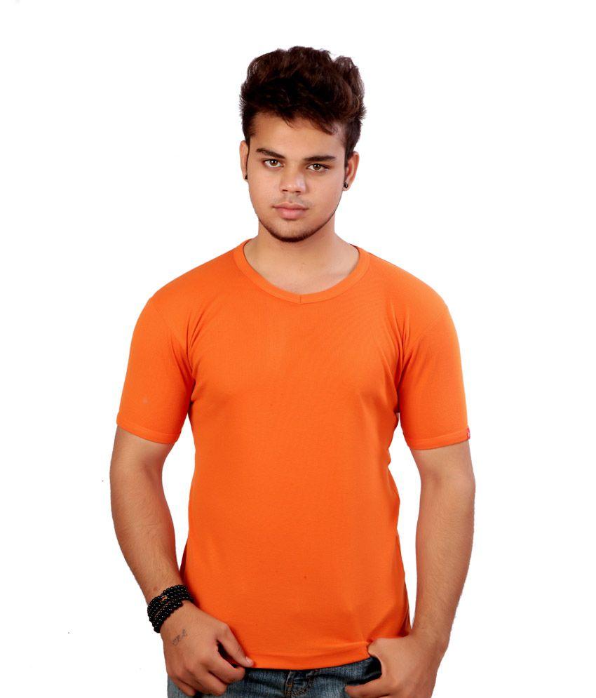 G.G.Engineers OranGe Cotton Tshirt
