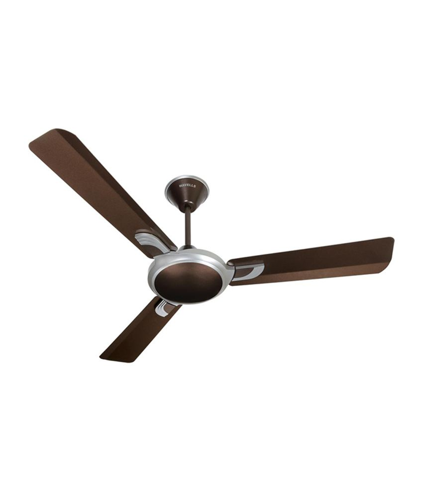Havells Areole 3 Blade 1200 Mm Ceiling Fan Brown Price