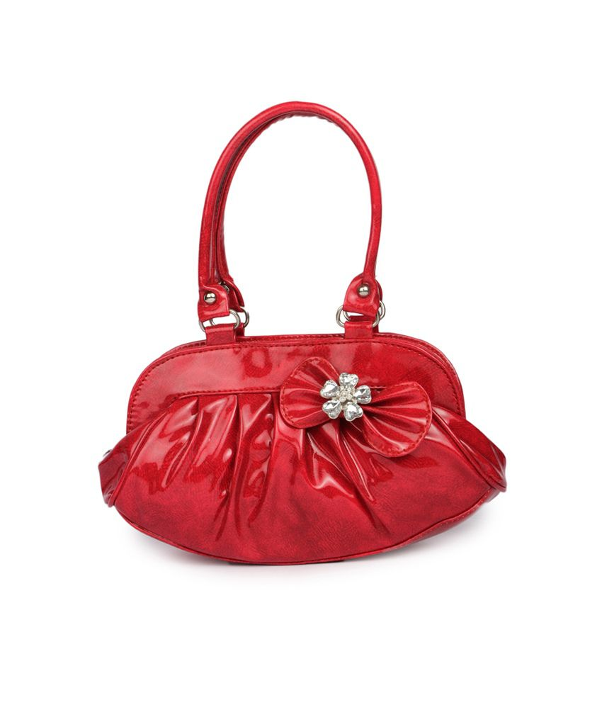 Maiden Red Four Four Shoulder Bag