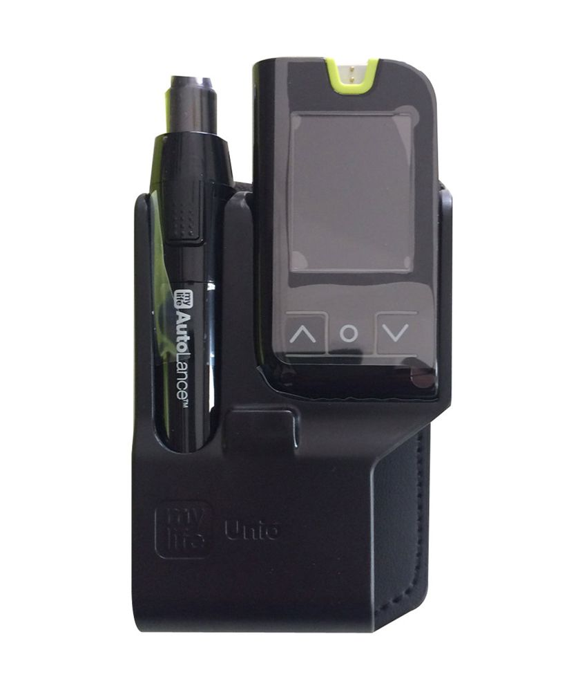 My life Unio Blood Glucose Monitoring System with 10 strips