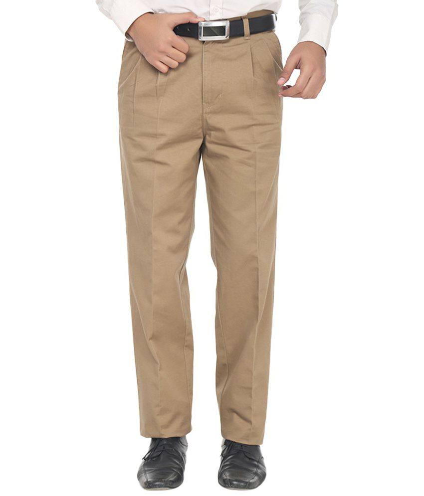 Amatuer Khaki Slim 30 Trousers