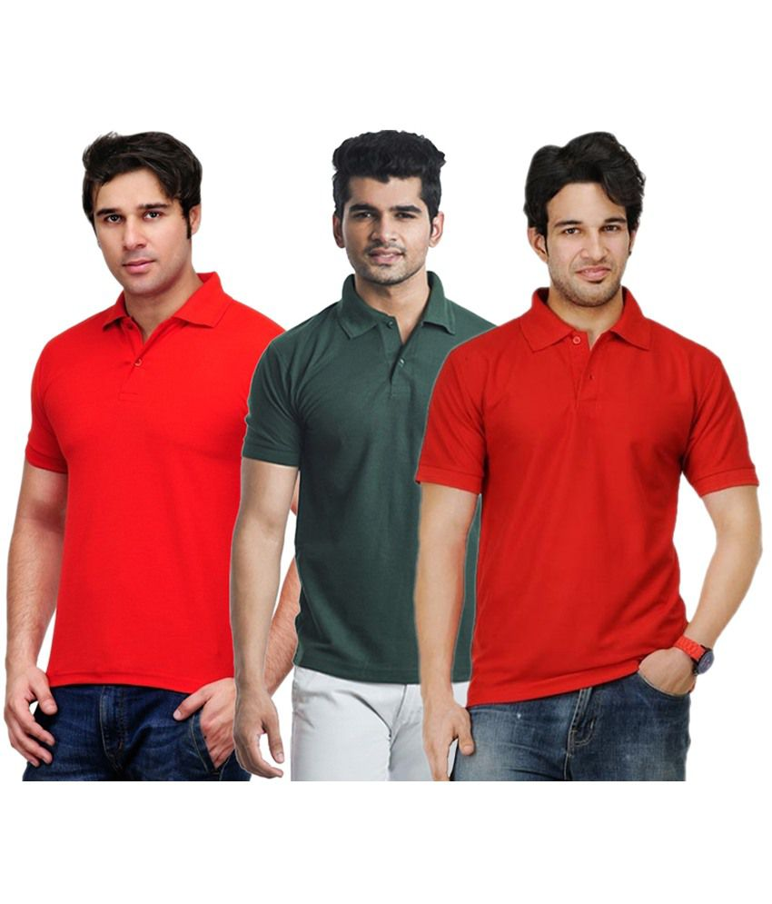 Rakshita's Collection Cotton T- Shirt (SET OF 3)