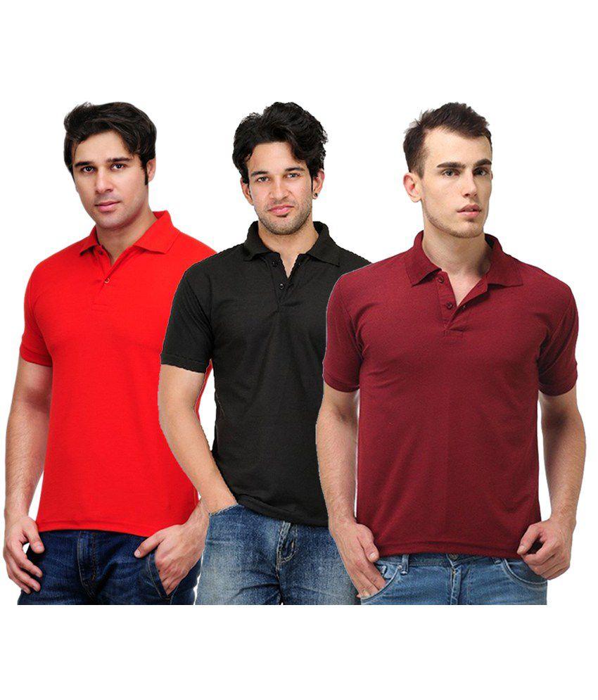 Rakshita's Collection Cotton T- Shirt (SET OF 3)
