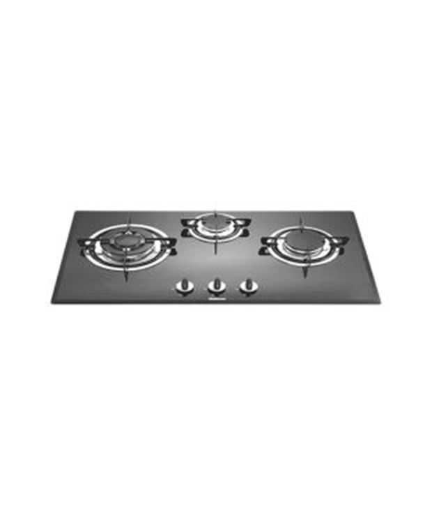 Sunflame SFH-73F2TG AI 3 Burner Built In Hob Gas Cooktop
