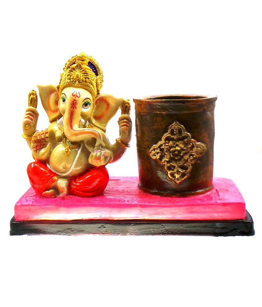 Modish Look Modish Look Resin Ganesha Idol