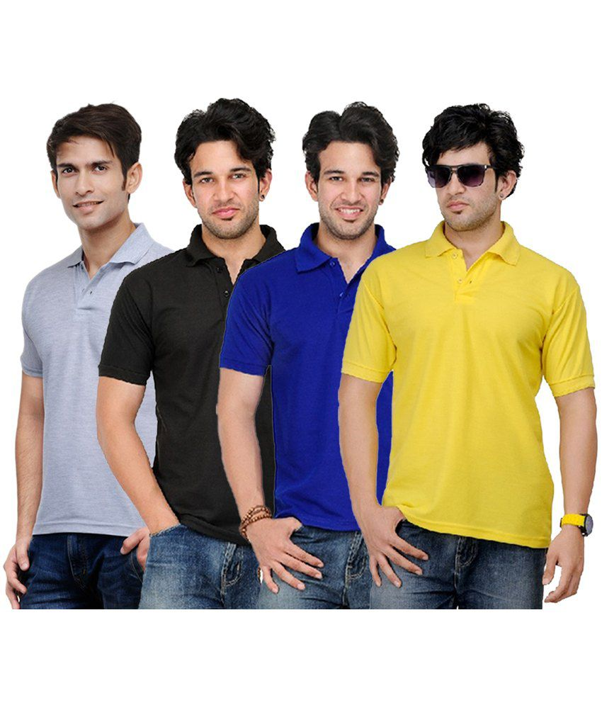 Rakshita's Collection Cotton T- Shirt (SET OF 4)