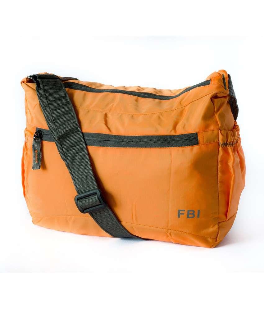 Bagme Fbi Sling Bag (Orange) - Buy Bagme Fbi Sling Bag (Orange ...