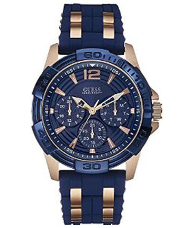 guess blue chain wrist watch for men buy guess blue chain wrist guess blue chain wrist watch for men