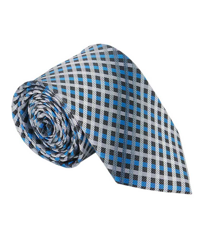 Vermello MultiColour Micro Fiber Stripes Formal Tie for Men