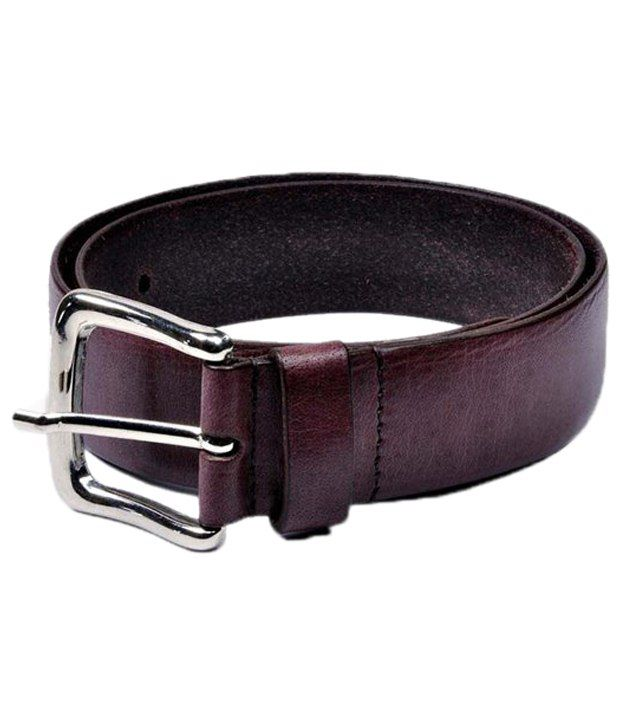Brune Enticing Brown Casual Belt For Men