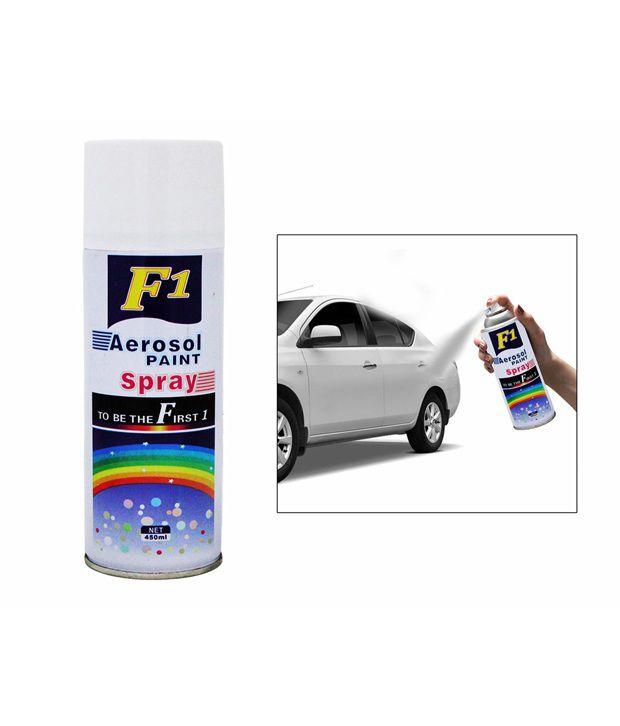 Spedy F1 Car Touchup Spray Paint 450Ml White-Maruti Swift New