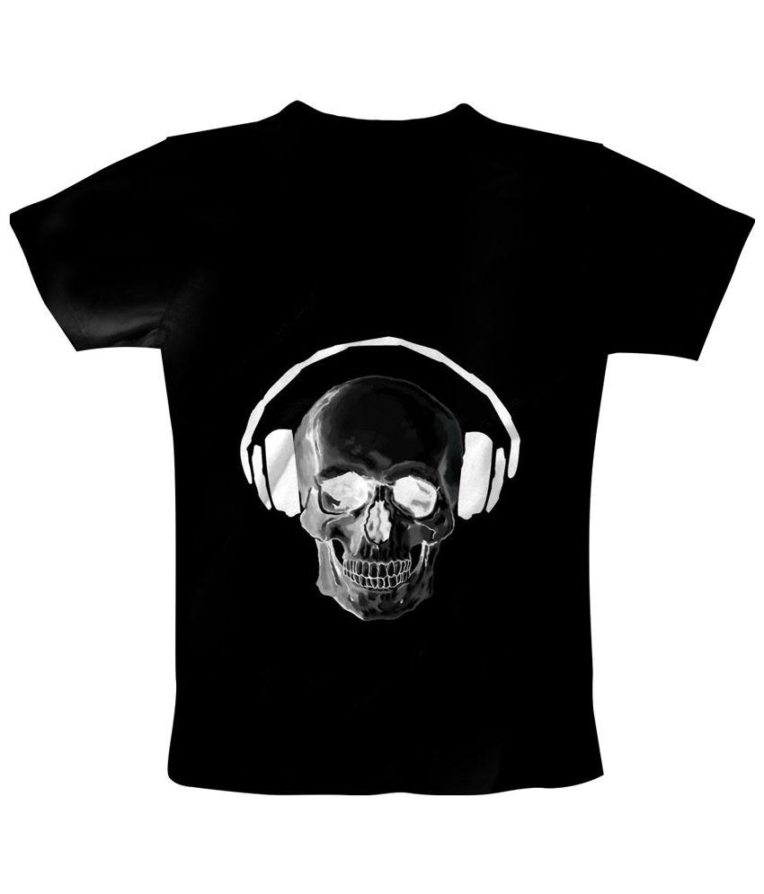 Freecultr Express Black & White Listen Printed T Shirt