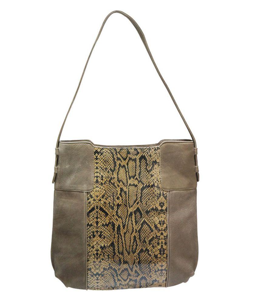 Jeane Sophie IK5073567MDGRN99 Green Shoulder Bags