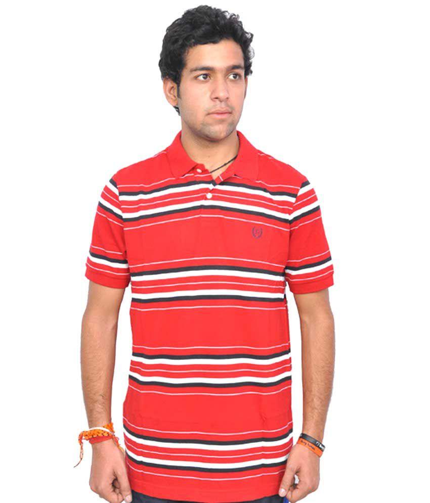 London House Cotton Stripers Half T Shirt