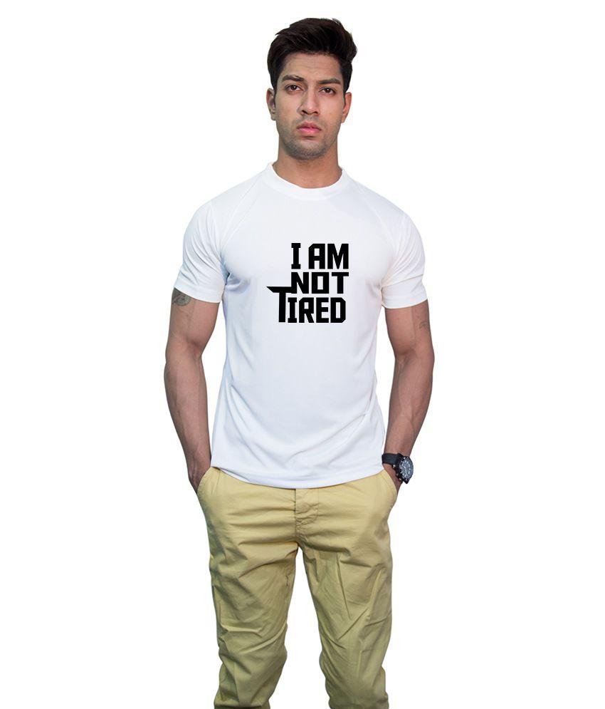 Printland Effit I Am Someone White T Shirt