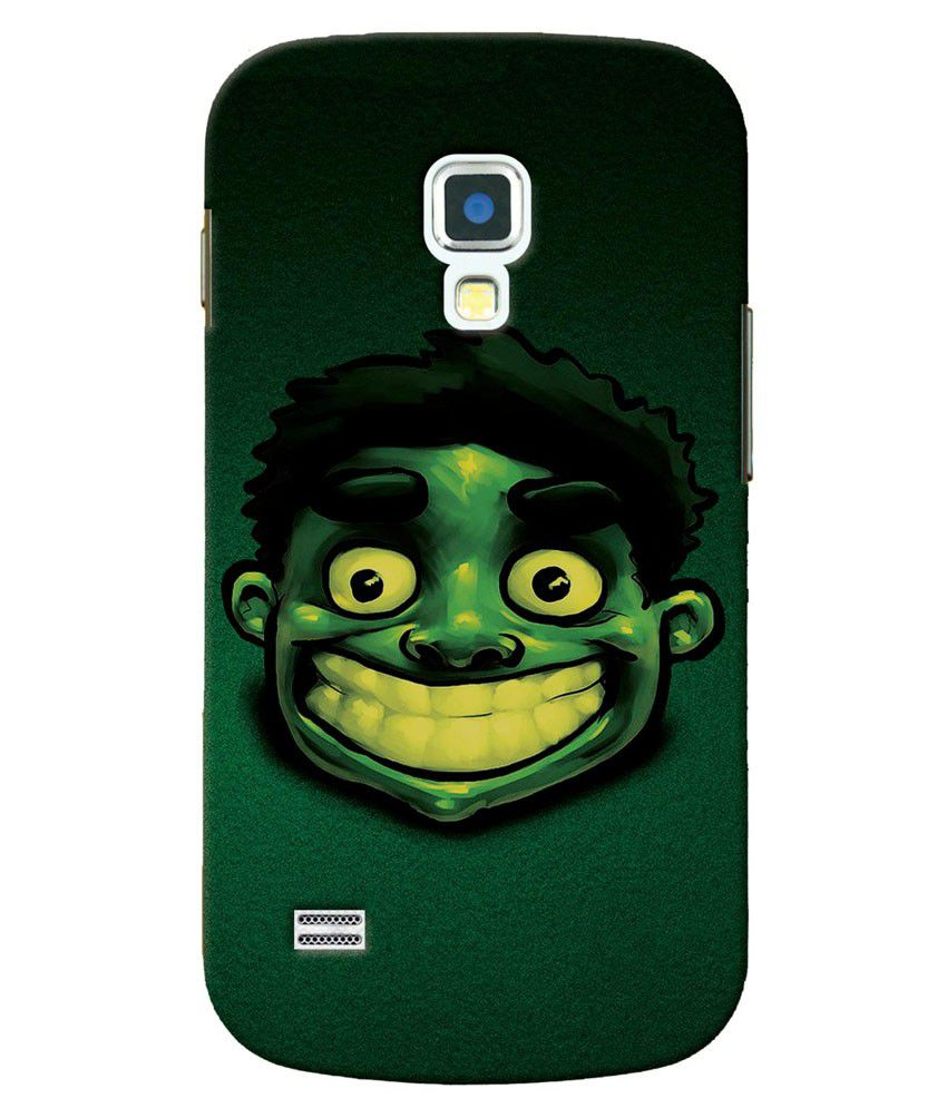 premium selection c85cb aaad6 Rangde Hard Back Case Cover For Samsung Galaxy S4 Mini - Green ...