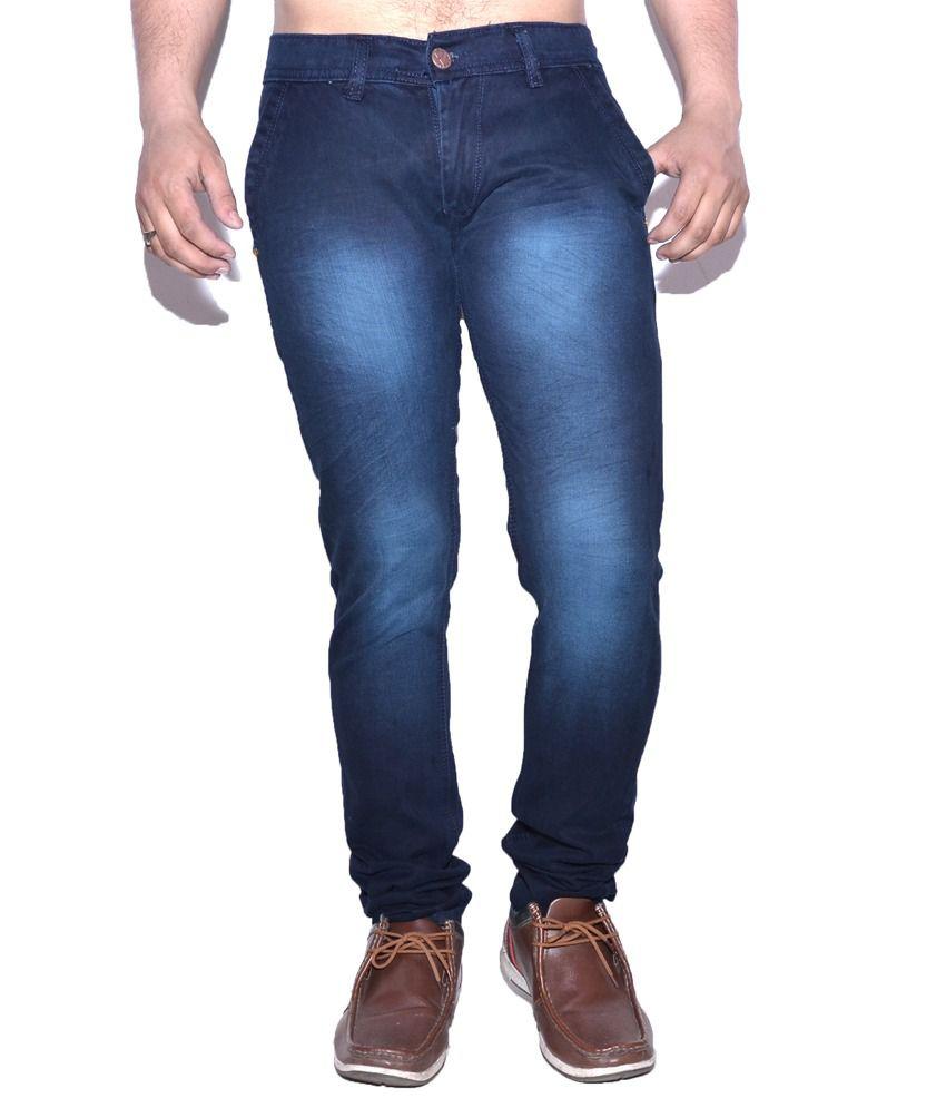 Nation Mania Light Blue Slim Jeans
