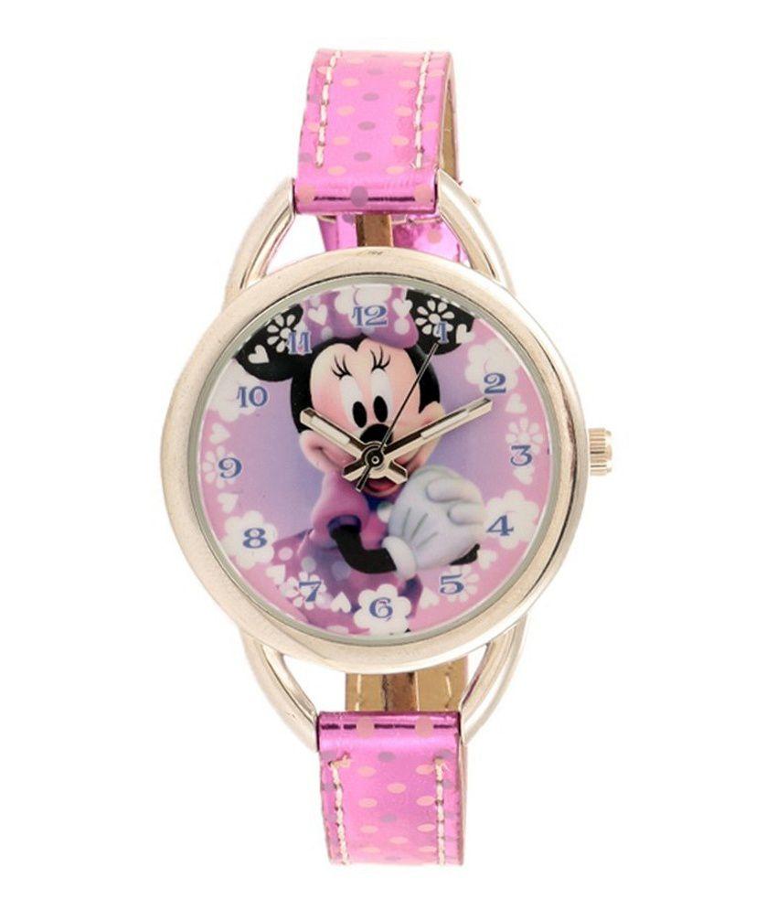 Disney Minnie Mouse Multi Analog Wrist Watch For Kids