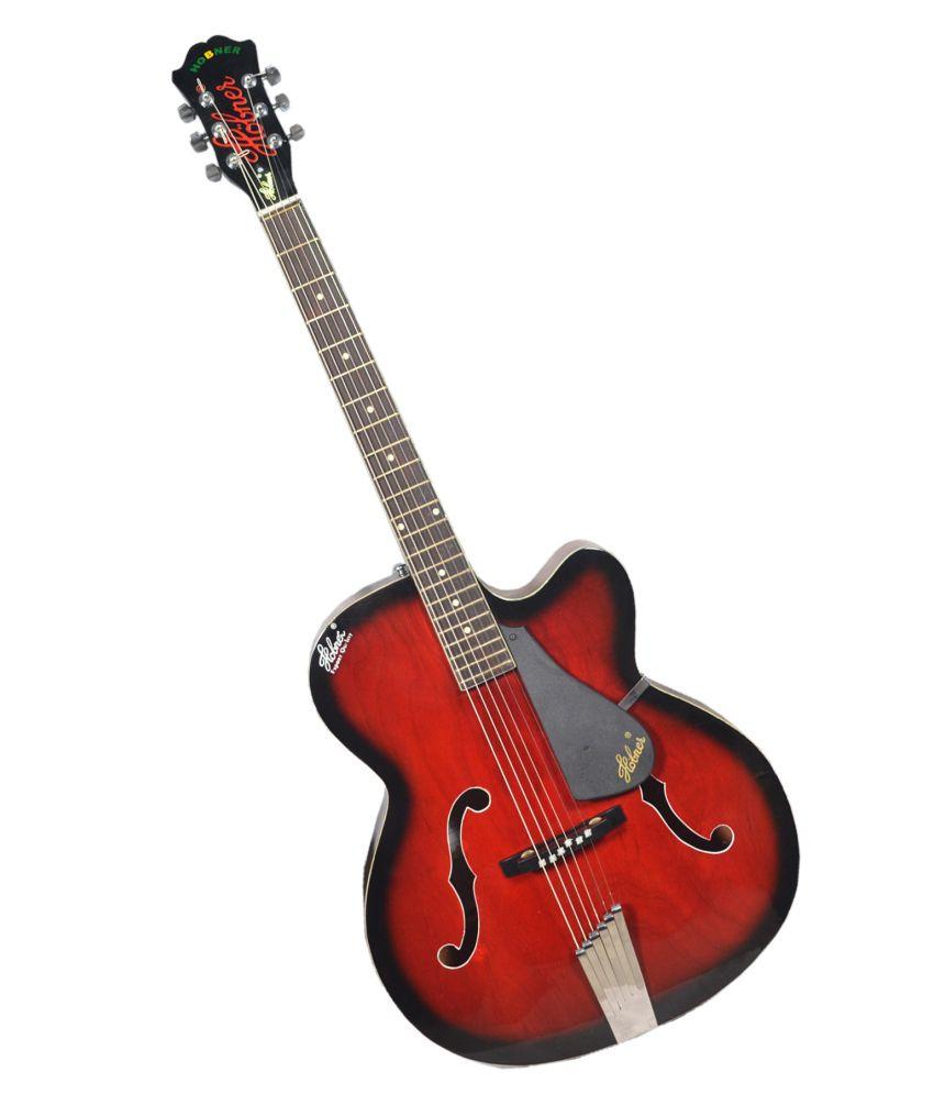 hobner red devil acoustic guitar buy hobner red devil acoustic guitar online at best prices in. Black Bedroom Furniture Sets. Home Design Ideas