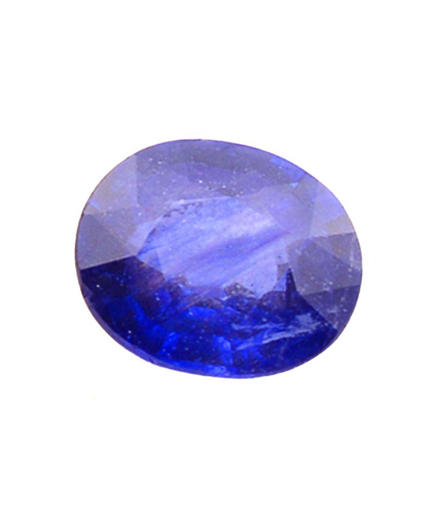 Shiva Rudraksha Ratna Natural Blue Sapphire - 4.75 Carat