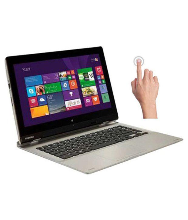 Toshiba Satellite L30W-B I0110 Notebook (4th Gen Intel Core i3- 4GB RAM- 500GB HDD- 33.78cm (13.3) Touch- Windows 8.1) (Silver)