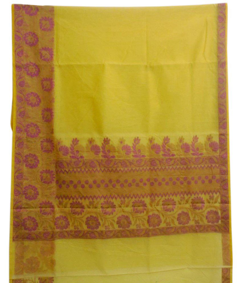 Toa Silk Fab Multicolour Art Silk Banarasi Saree With Blouse Piece