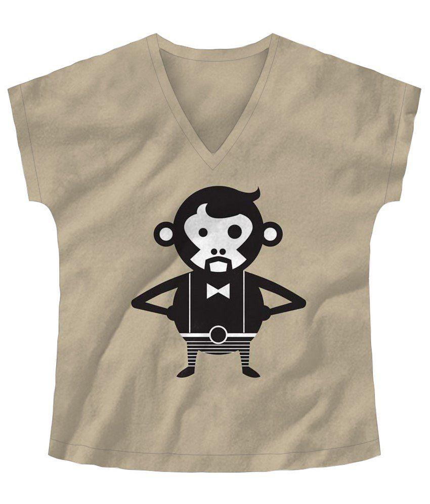 Freecultr Express Black & White Gentleman Half Sleeve T Shirt