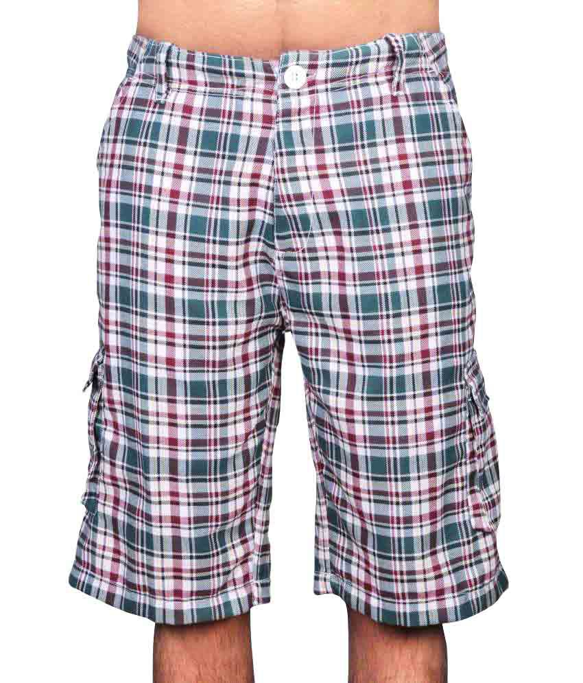Gg Checkered Men's Bermuda Short