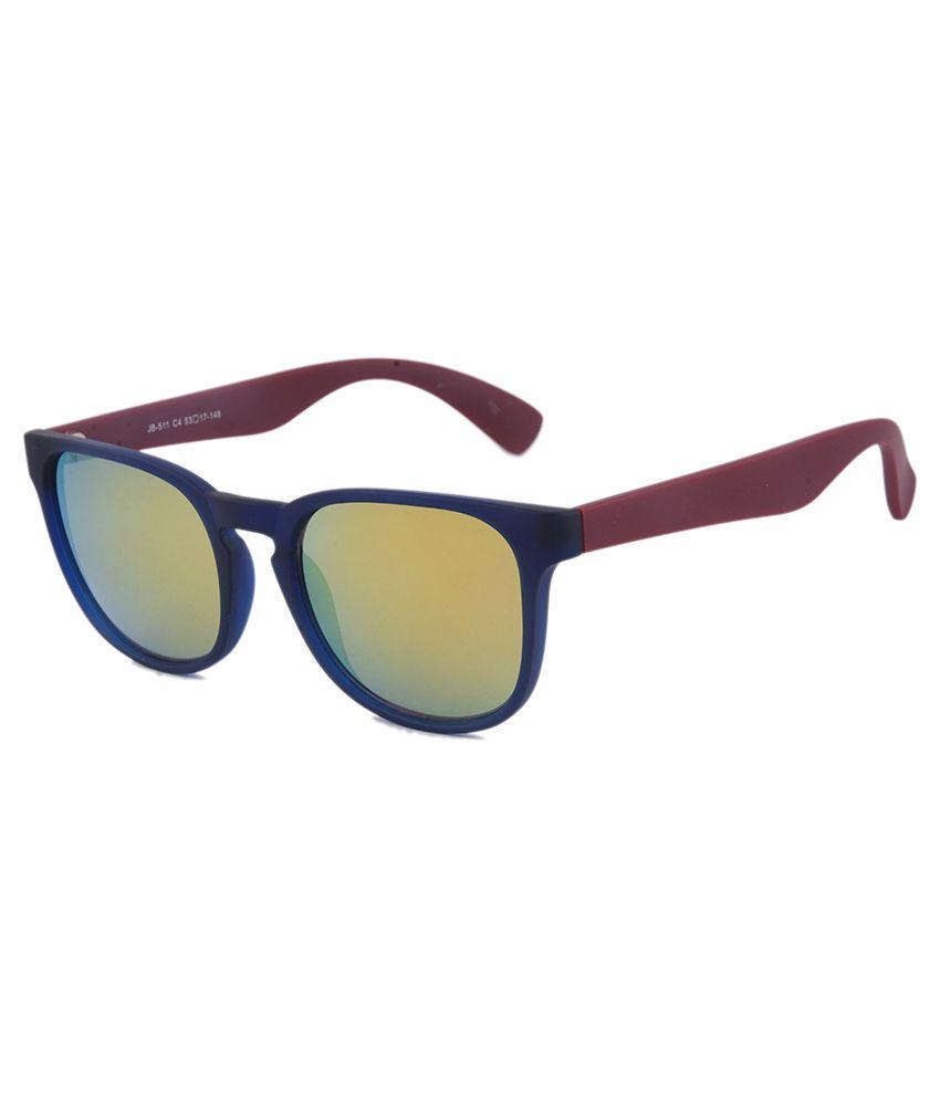 Joe Black - Golden Square Sunglasses ( jb-511-c4 )
