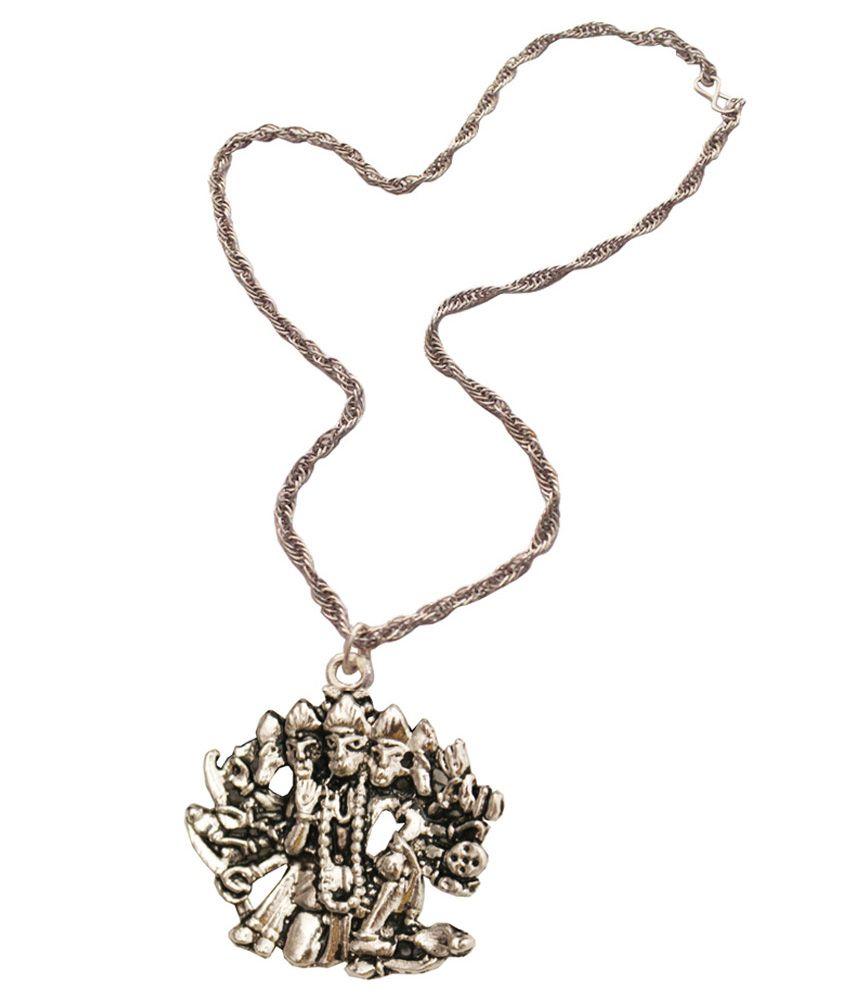 Rich famous silver panchmukhi hanuman pendant with chain buy rich rich famous silver panchmukhi hanuman pendant with chain aloadofball Images
