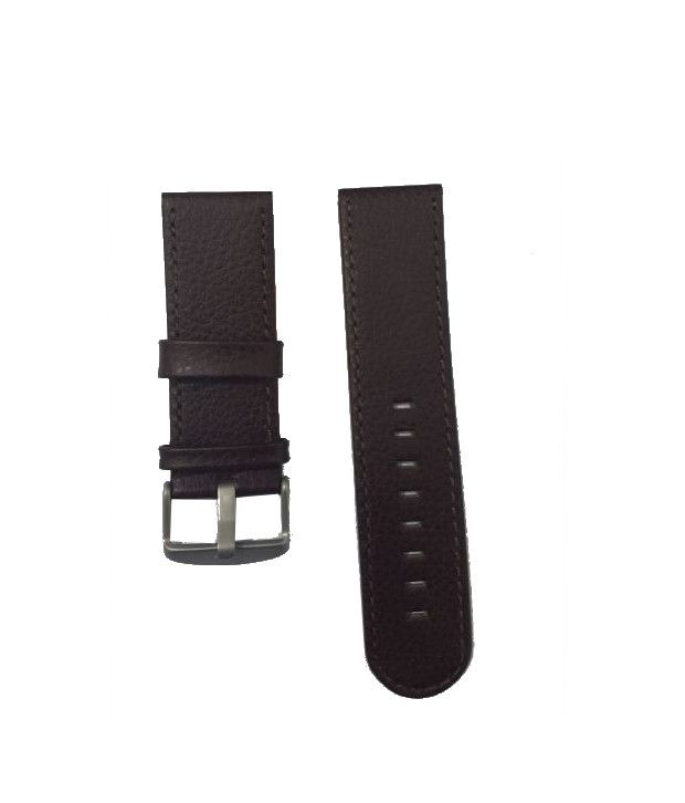 d5f6700cdf26 Fastrack 30185L01 Brown Leather Watch Strap Fastrack 30185L01 Brown Leather  Watch Strap
